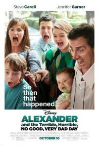 Alexander and the Terrible, Horrible, No Good, Very Bad Day / Александър и безкрайно лошия ден (2014)