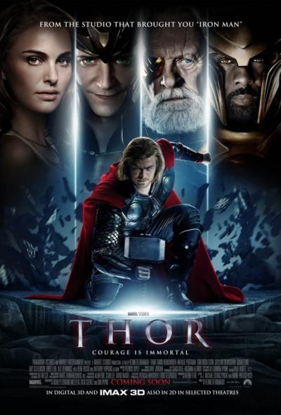 Thor/ Тор: Богът на гръмотевиците (2011)