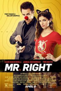 Mr. Right / Идеалният мъж (2015)