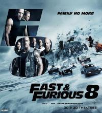 The Fate of the Furious / Бързи и яростни 8 (2017)