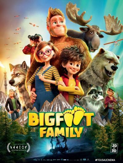 Bigfoot Family / Семейството на Голямата стъпка (2020)