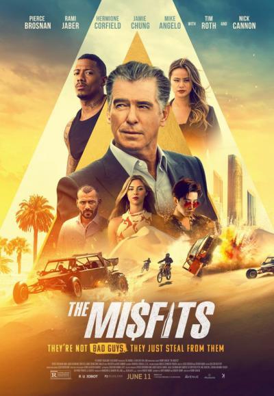 The Misfits / Крадецът джентълмен (2021)